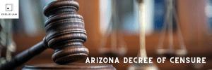 Arizona Decree of Censure