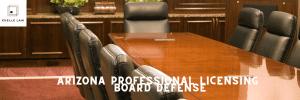Arizona Professional Licensing Board Defense